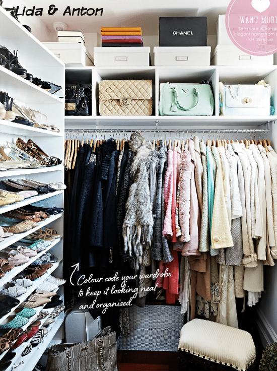 Стильные гардеробные