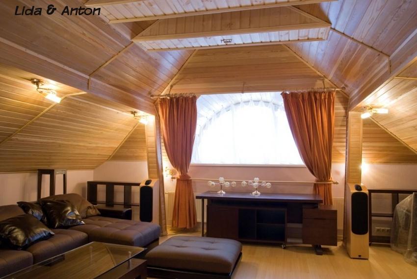 Потолок из вагонки – снова в моде