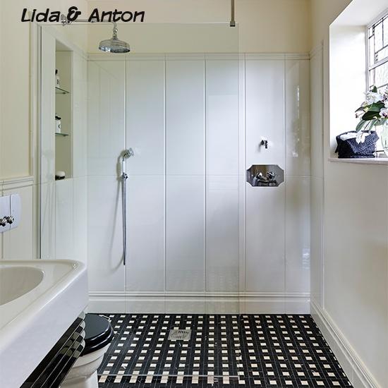 Стильные душевые для современных ванных комнат