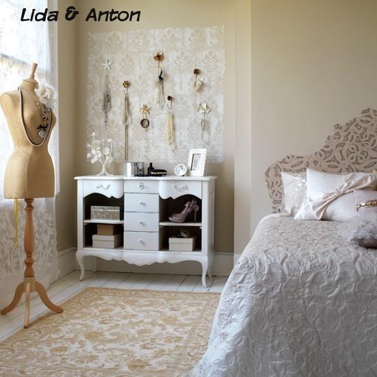 Создание винтажной спальни
