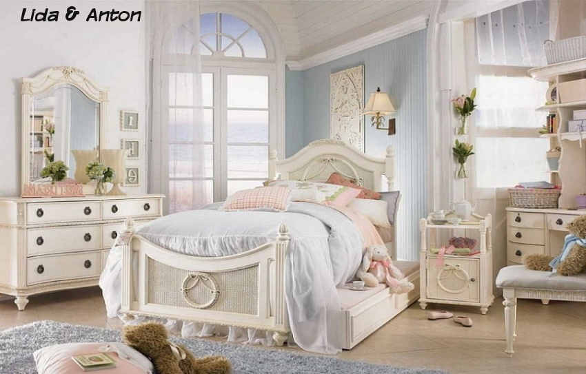 Детская комната в стиле Шебби Шик!