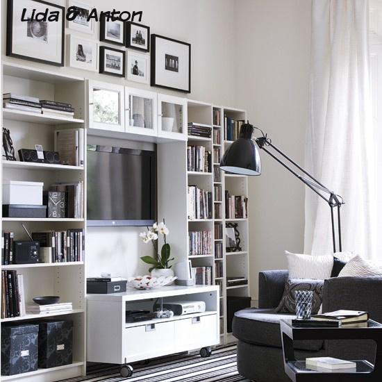 Открыть небольшой комнатки с их умными идеями хранения