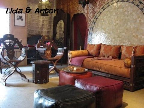 Гостиная в мавританском стиле