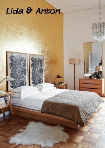 Основная спальня была построена вокруг страсти в период Баухаус.