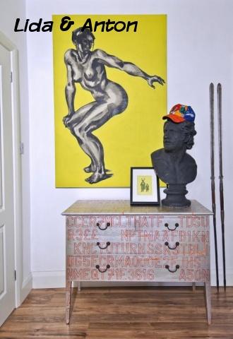 Мебель Поп-арт в интерьере