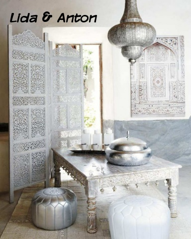 Интерьер в марокканском стиле