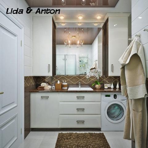 Шикарное настроение для спальни и ванной комнаты