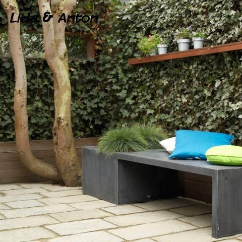 Уютный сад модерн