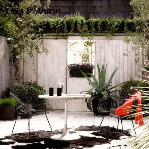 Простые идеи для оформления современного сада