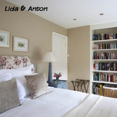 Стеллаж для книг в спальню
