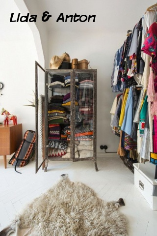 Не гардеробная, но тоже для хранения одежды