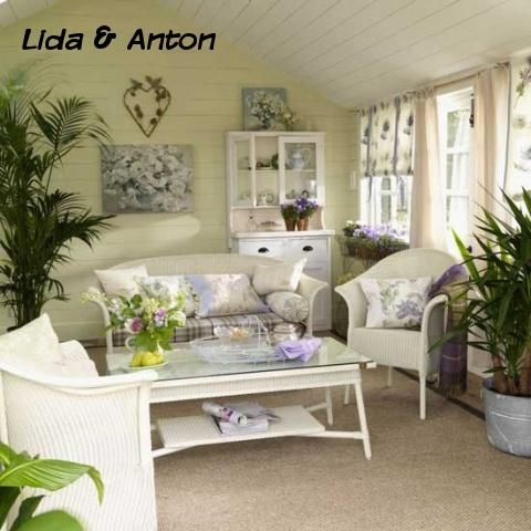 Сад в гостиной