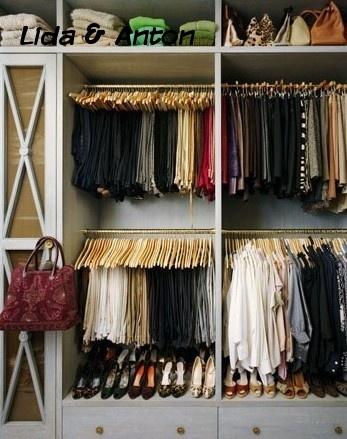 Компактная гардеробная для тысячи вещей