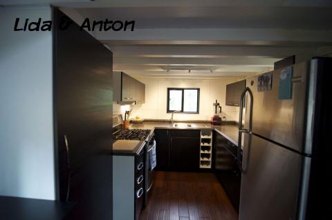 Кухня в передвижном доме