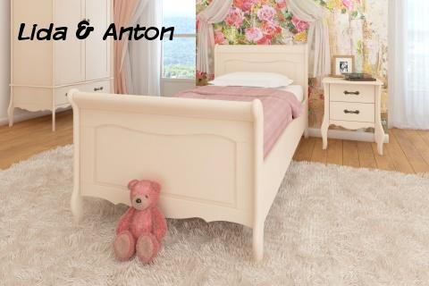Кровать Лебо