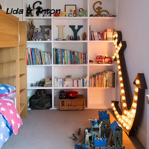 Освещение детской спальни