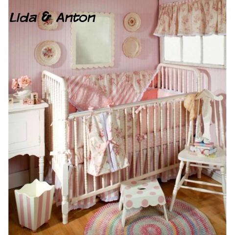 Детская кровать Шебби Шик