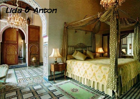 Спальня в мавританском стиле