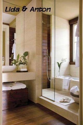 SPA ванная вашей мечты - деревянная ванная