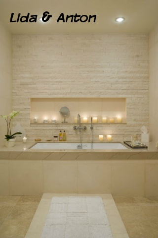 SPA ванная вашей мечты - крем и свечи