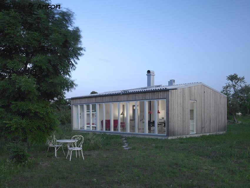 Летний гостевой дом в Швеции