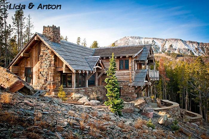 Идеальный дом среди вершин Монтаны