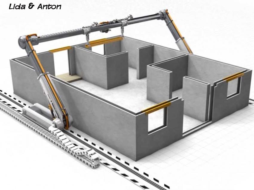 3D-принтер в строительстве
