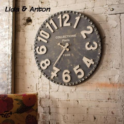 Настенные часы в стиле лофт