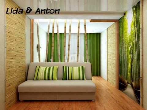Обои из бамбука
