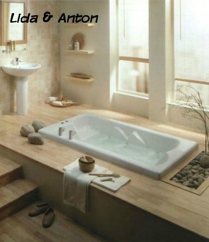 SPA ванная вашей мечты - ванная в полу