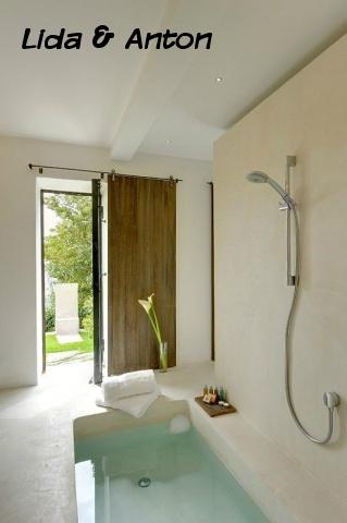 SPA ванная вашей мечты - ванная с выходом в сад