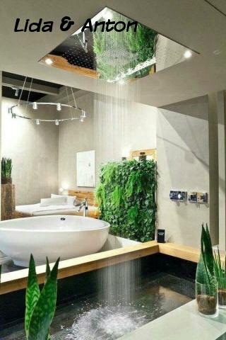 SPA ванная вашей мечты - натуральные растения