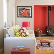 Идеи дизайна для гостиных